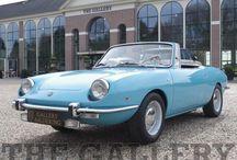Fiat 850 Spider Blue