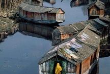 Maison flottante / Maison flottante, houseboat