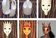 Máscaras plastico
