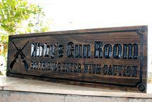 Gun Room Signs