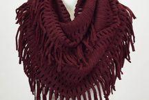Knitwear- Scarf inspo