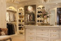 Dream closets/dressing rooms