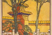 forbidden city - traditional art