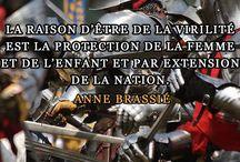 Nos citations / Citations d'auteurs diffusées sur la page Facebook de l'association Oriflammes.
