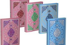 Pembe Mavi Kur'an-ı Kerim