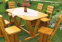 Drvene baštenske garniture - Wooden garden furniture