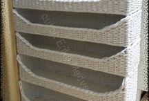 papírové pletení / Tvoření