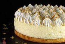 gâteau nuage au citron meringue