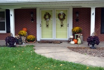 Front porch and patio / Outside/decor / by Grace Skinner