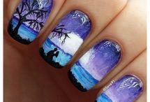 Nail Art belle!!!!