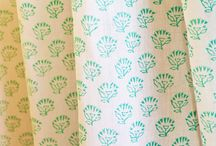 Curtains For Living Room  / Block Print Curtains - Linen Curtains - Curtains For Living Room