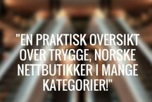 Netthandel & Norske Nettbutikker