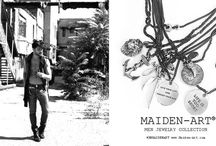 Maiden-Art MEN jewelry / Mr. MaidenArt is the new Italian Men's Jewelry Line designed by Maiden-Art. Find our latest Men's bracelets, necklaces and accessories and shop online on https://www.maiden-art.com/collections/italian-mens-jewelry