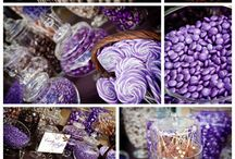 Purple themed Candy by color