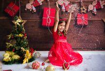 Ensaio de Natal da Julia