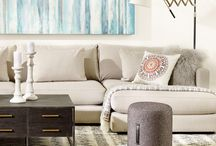 Living Room Love / Now this is what we call living! As the hub of the home, the living room is where it all comes together. From sofas to coffee tables to bookcases, the design possibilities are endless. And we carry it all, so your living room can have it all.