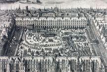 파리의 17세기 광장 주거