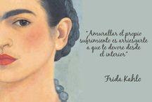 Frida  / frases e imágenes hermosas de una gran artista mexicana