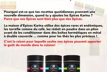Affiches Publicitaires / Toutes les affiches publicitaires de la maison d'Epices Karina.