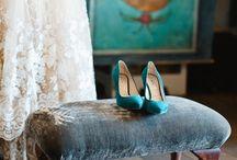 Colour Palette: Turquoise & Teal / Wedding inspiration - turquoises and teals colour scheme