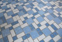 Floor tiles hall