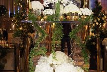 A Plaza Hotel Wedding / White roses were the theme for this weekend's wedding at The Plaza Hotel in New York designed by Jerry Rose.