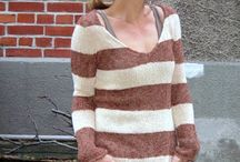 Knitted sweaters / Great knitted sweaters. With and without patterns