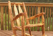 ხის ავეჯი / Wooden furniture
