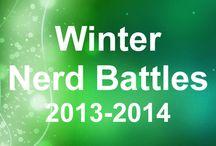 Winter Nerd Battles 2013-2014
