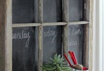 Clever Chalk Boards