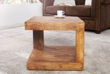 Drewno we wnętrzach / Produkty wyposażenia wnętrz wykonane z drewna, w tym z drewna egzotycznego. Meble, lampy, dekoracje.