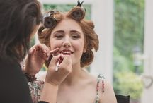 Red Lip Bride Lindsey - Makeup by Laura-Louise Makeup Artist