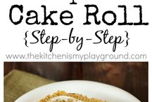 Pumpkin Cake Roundup / Best pumpkin cakes recipes! Easy step by step instructions! Perfect for fall, Halloween and Thanksgiving!