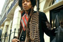 Musician Jimi Hendrix