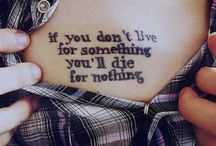 • Tatuaggi • / Racconti sulla pelle. Come lividi Come cicatrici  Come tatuaggi.