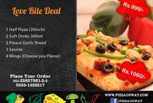 Pizza On Way - SMM campaign by Boundless Technologies / Designing  Social Media marketing Social media marketing Management Campaign Ideas - By Boundless Technologies