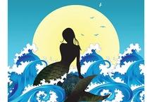 School play mermaid