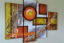 cuadros abstratos modernos