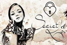 Secret&Love Art / Tutta la graphic concept di Secret&Love