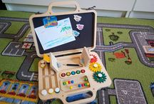 travel busy board for toddler's