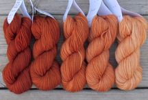 Yarn sets / I've added all these Colour combination sets for reference.  Ideas for mixed Colour knitting.