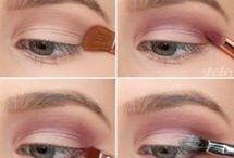 maquillaje para ojos.