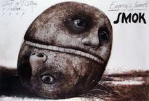 Polish illustration/posters