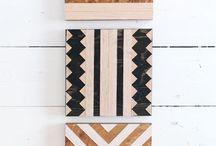 dýhy a dřevo