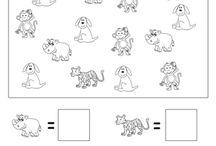 Animal numbers worksheet