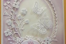 Cards elegant, gorgeous and layer used