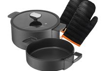 B.Double Round Cookware Set