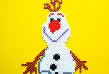 Disney - Frozen / Hama beads - perler