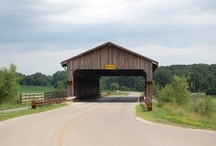 Covered Bridges / Step back in time with these covered bridges along the Illinois Lincoln Highway.
