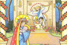 Christmas illustrations of Mary Englebreit